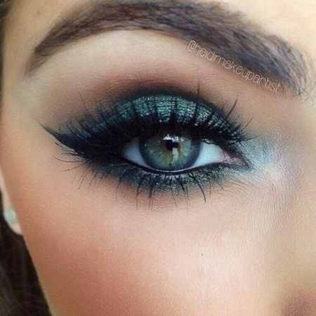 maquillage mariee yeux bleux
