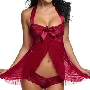 1612468494 womens lingerie bodysuit babydoll Avidlove Lingerie for Women Lace